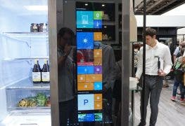 LG Smart InstaView Kühlschrank mit Windows 10 im Hands on-Video