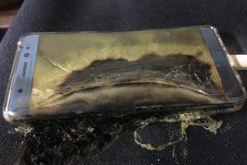 Note 7 Exploding Battery