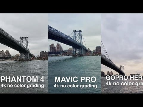 DJi Mavic Pro vs. Phantom 4 vs. GoPro Karma im 4K-Video Vergleich
