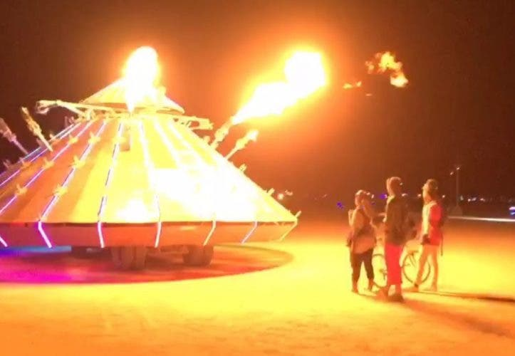 Burning Man 2016 – Hyperlapse