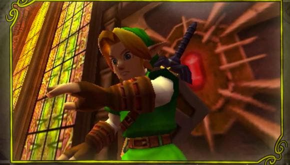 zelda ocarina of time screenshot