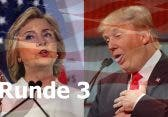 TV-Duell Clinton vs Trump: Livestreams der 3.Debatte zur US-Wahl 2016