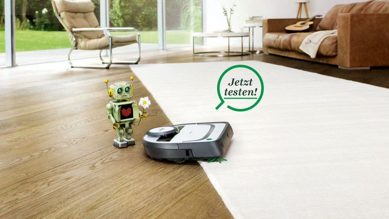 vorwerk kobold vr200 saugroboter im h rte test. Black Bedroom Furniture Sets. Home Design Ideas