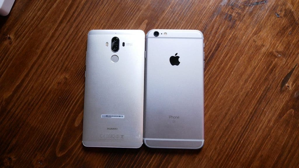 Huawei Mate 9 vs iPhone 7 Plus