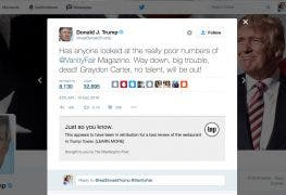Washington Post Chrome Extension liefert Faktencheck fuer Donald Trump Tweets