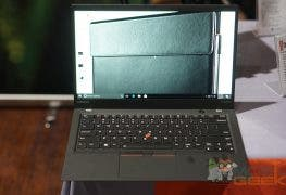 Lenovo ThinkPad X1 Carbon (2017) 14″ Notebook im Hands on-Video