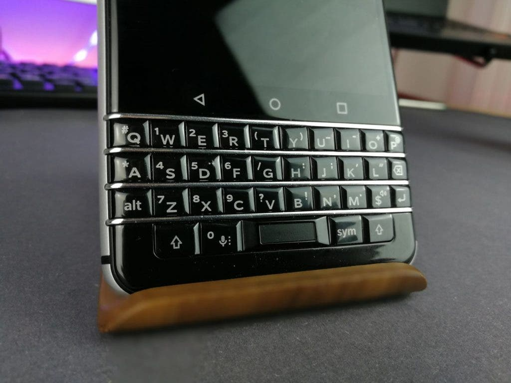 BlackBerry KEYone keyboard