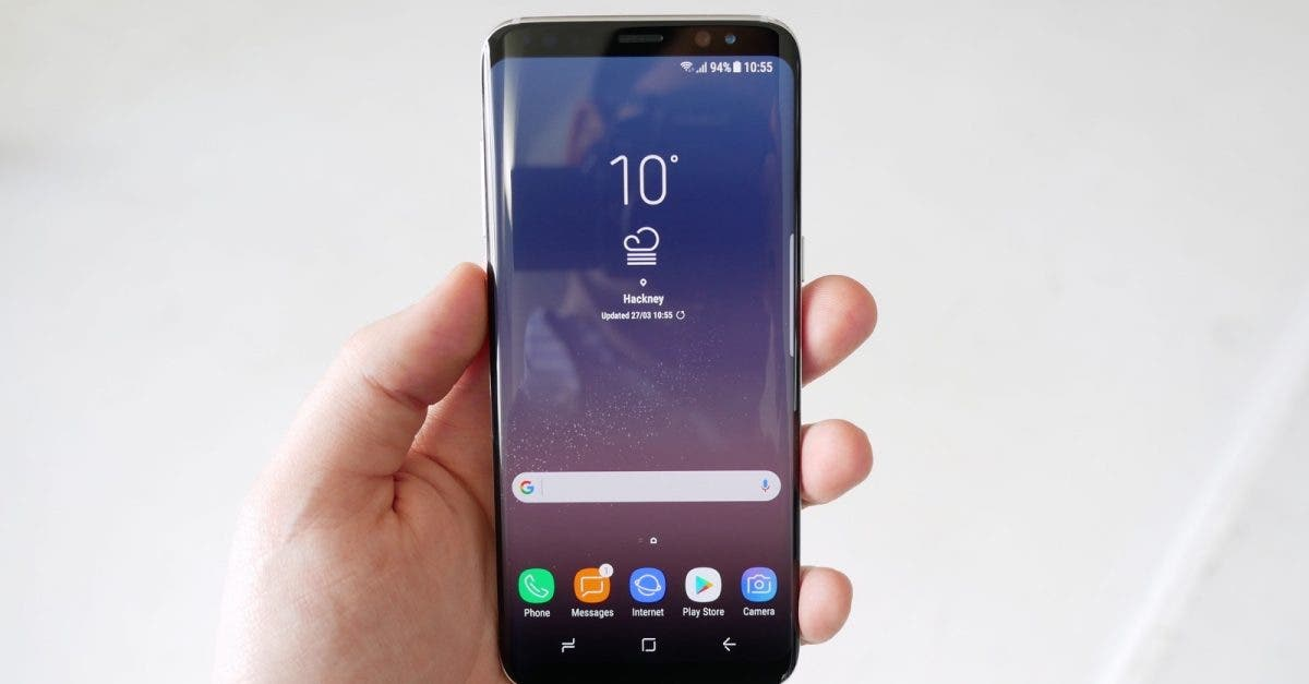 samsung galaxy s8 im test so f hlt sich die zukunft an. Black Bedroom Furniture Sets. Home Design Ideas