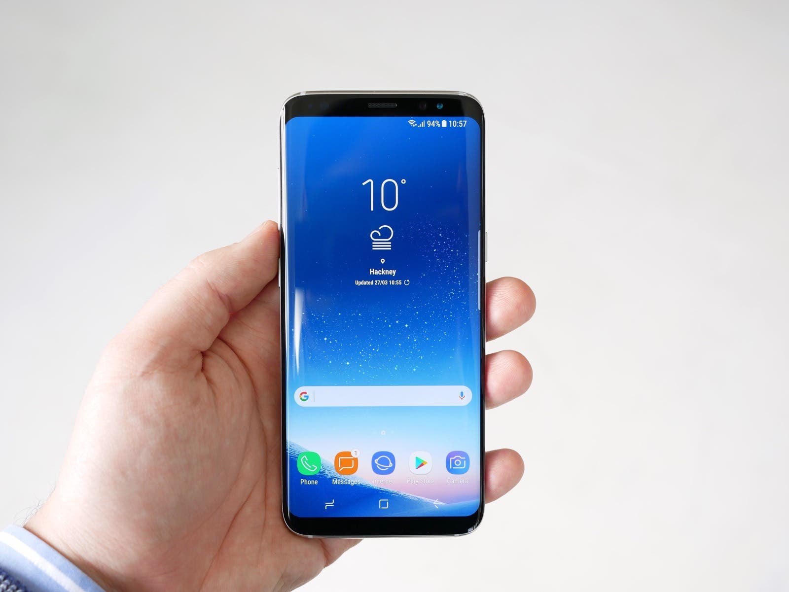 galaxy s8 ant+ how to connect