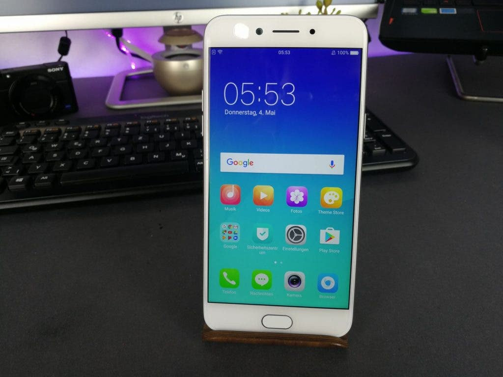 OPPO F3 in weiß