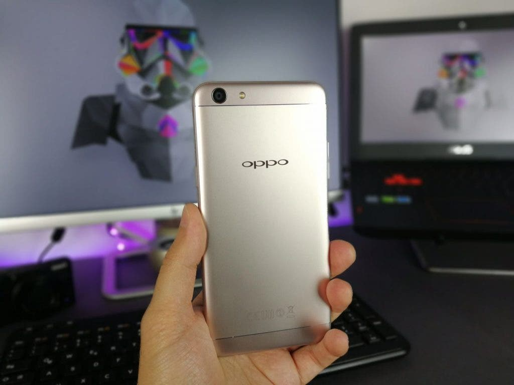 OPPO F3 Rückseite