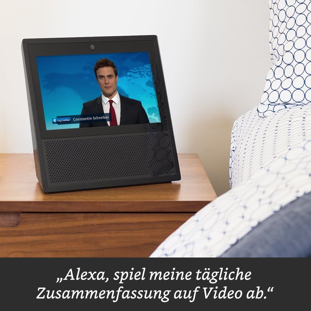 Amazon Echo Show streamt Nachrichten
