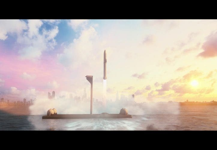 SpaceX: Mit der Rakete in 30 Minuten von London nach Los Angeles