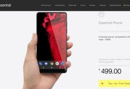 Essential Phone: Ab sofort Preissenkung um 200 US-Dollar