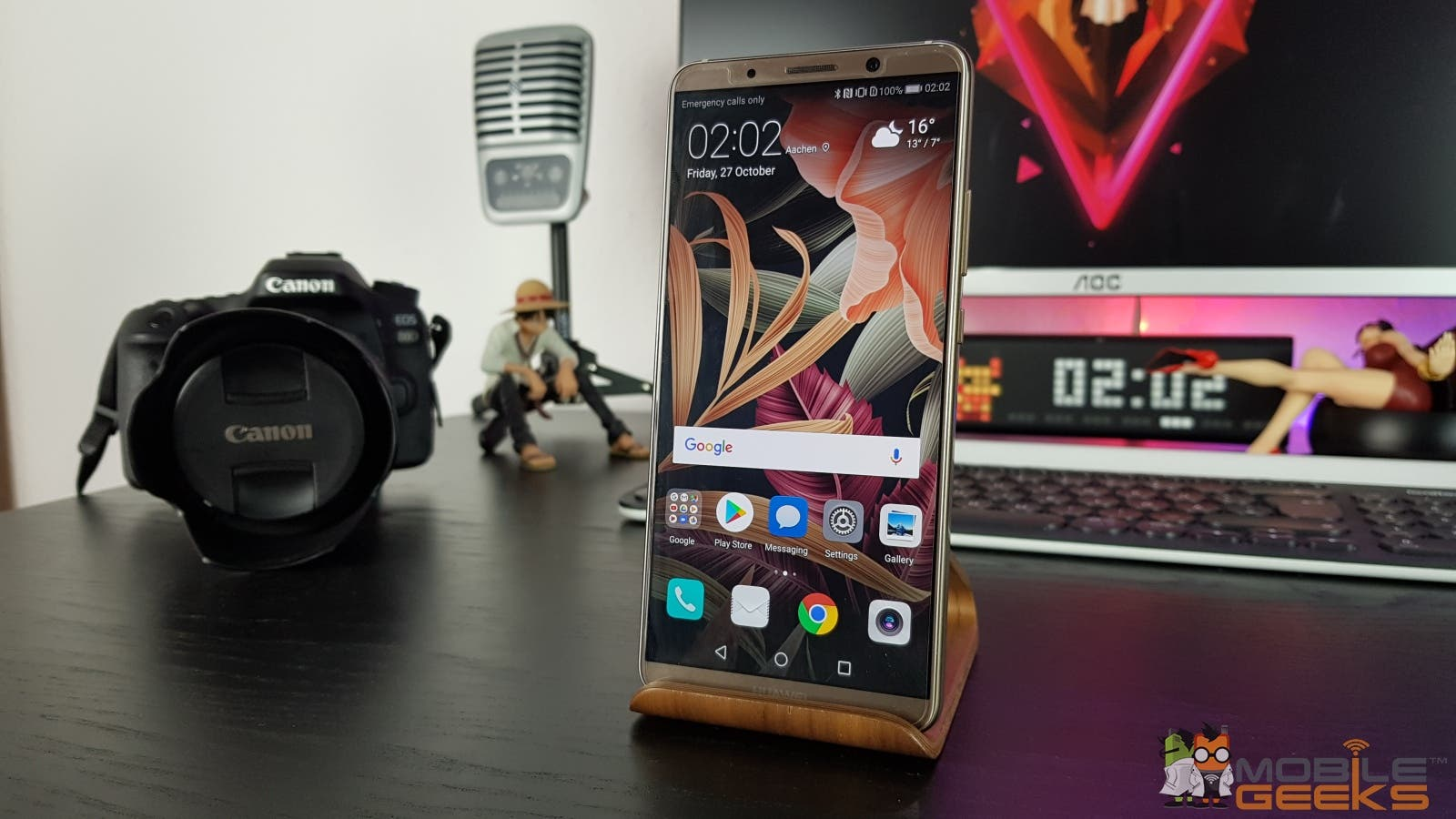 Huawei Mate 10 Pro Vorderseite