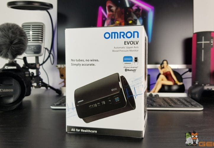 Omron EVOLV Verpackung
