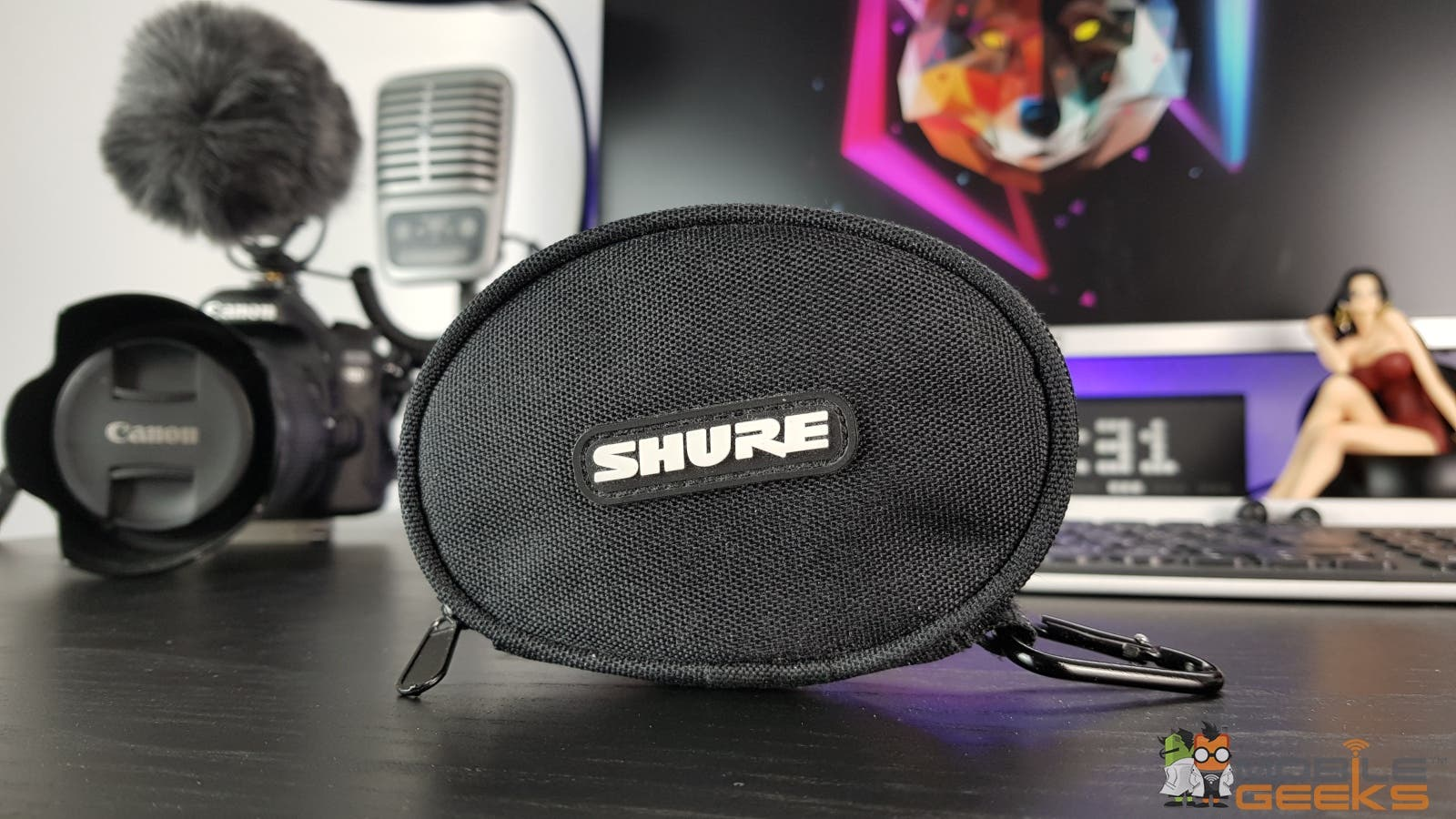 Shure SE215 Wireless Tasche