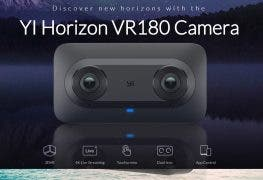YI Horizon VR180: 180 Grad Point-and-Shot-Cam für 4K-Livestreams