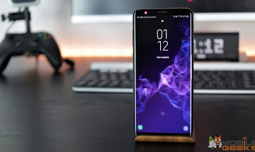 Samsung Galaxy S9 und S9 Plus Display
