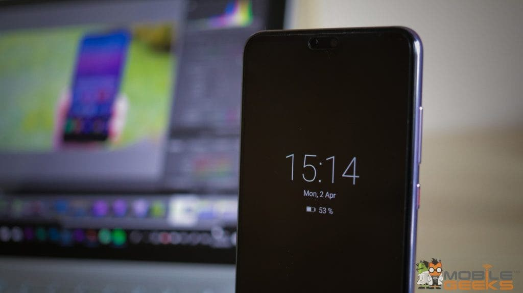 Huawei P20 Pro Always on Display