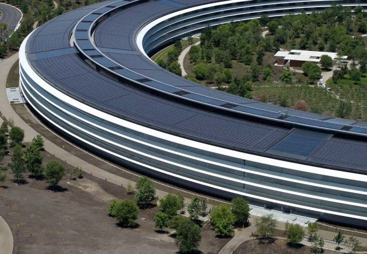 Spaceship: Der Apple Park im Juni 2018