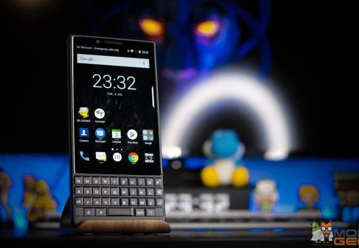 BlackBerry KEY2 test