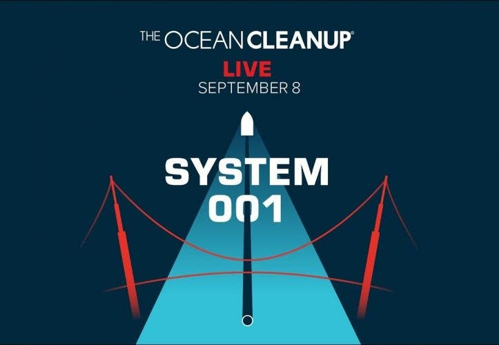The Ocean Cleanup beginnt