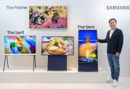 "Smart TV: Der Samsung ""The Sero"" probiert es hochkant"