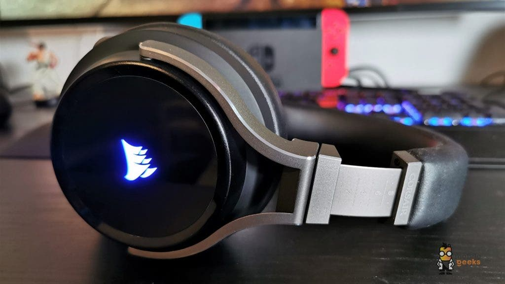 Corsair Virtuoso RGB Wireless Test Gaming Kopfhörer Headset Mobilegeeks