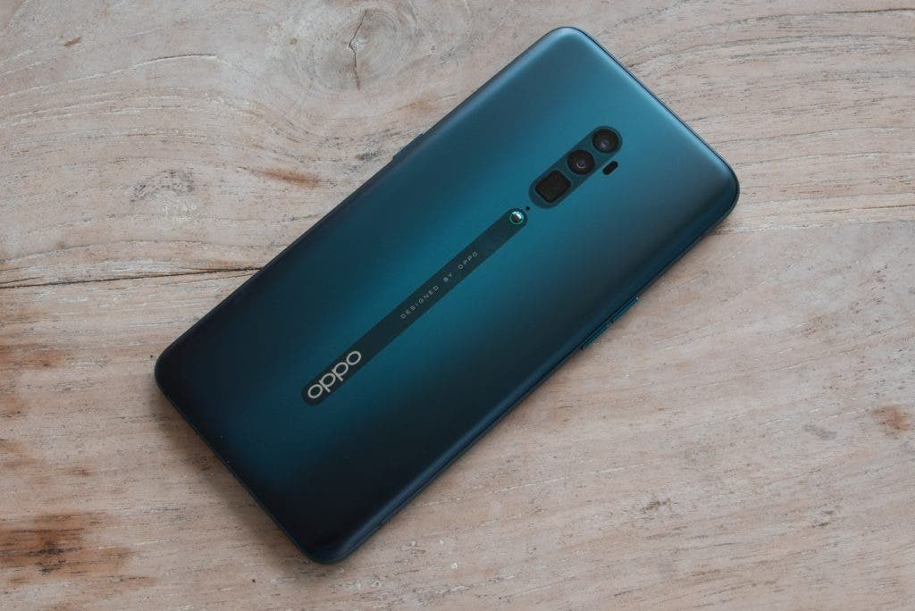 Oppo Reno 10x Zoom Rückseite in Ocean Green