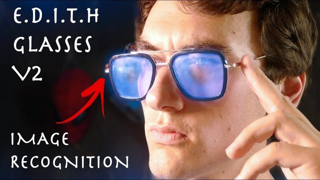 "DIY: Tony Starks ""EDITH""-Brille aus ""Spiderman: Far from home"" selbstgebaut"