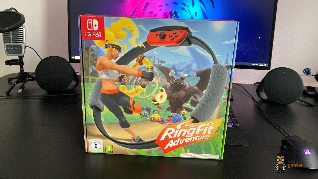 Ring Fit Adventure Nintendo Switch Fitness Sport Test Mobilegeeks