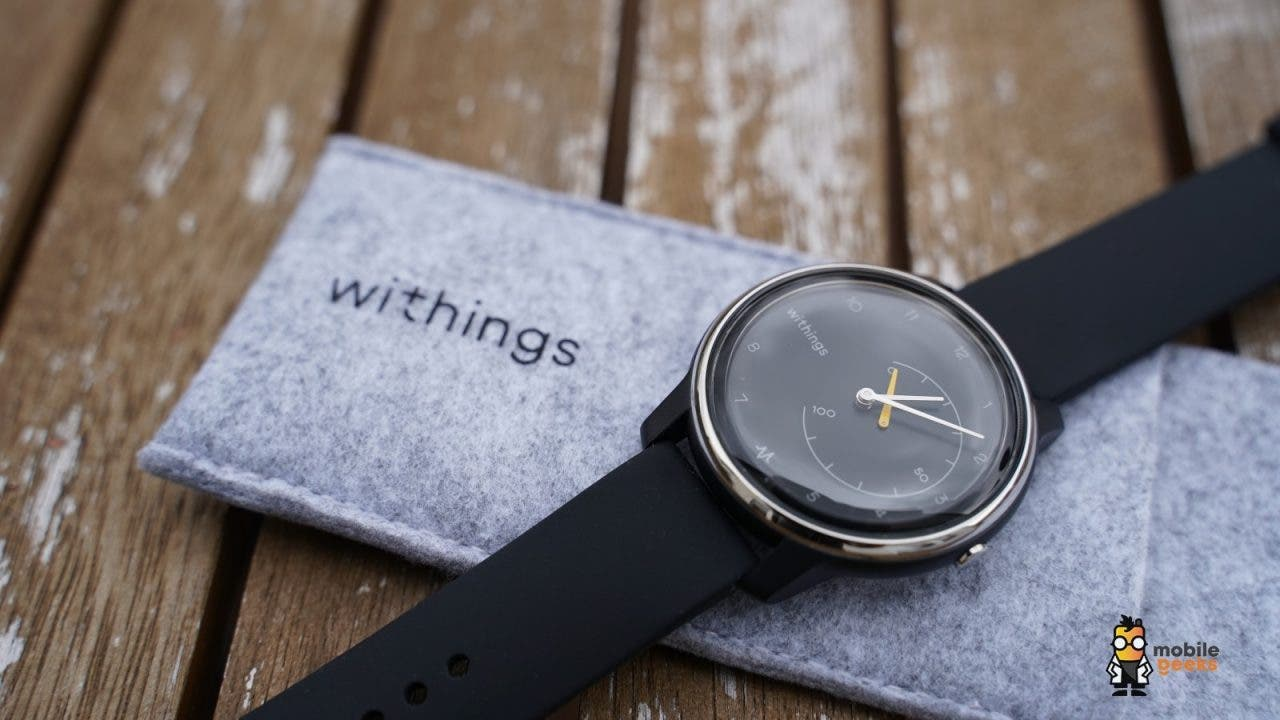 Withings Move ECG Uhr EKG Fitness Mobilegeeks Test