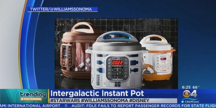 Merch überall: InstaPots im Star-Wars-Design