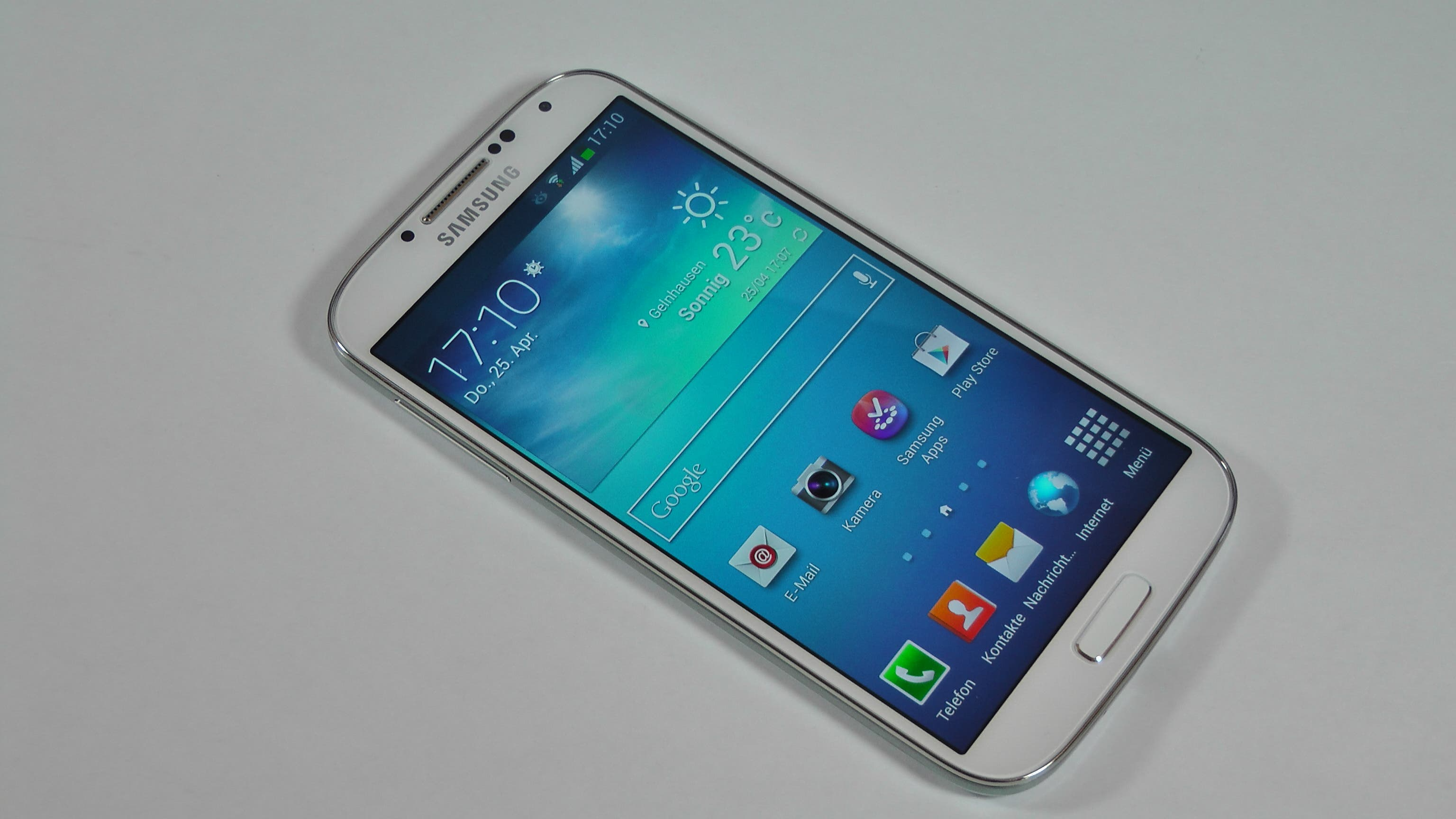 Samsung Galaxy S4 Unboxing und Hands On 3