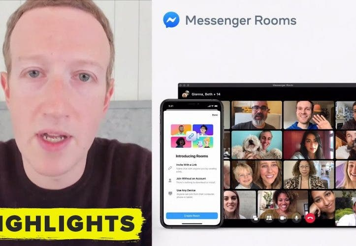 Facebook Rooms: Facebook kündigt Video-Messenger an