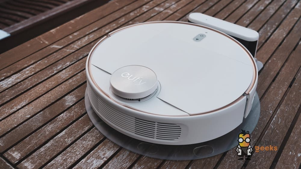 Eufy RoboVac L70 Hybrid App Test Mobilegeeks Home Office Test