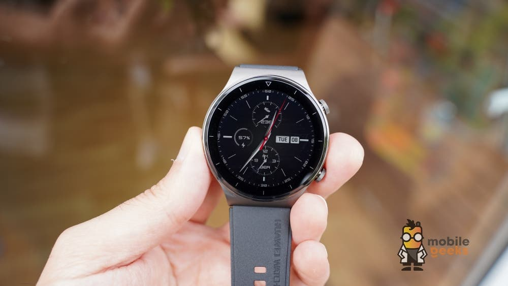 Huawei Watch GT 2 Pro Uhr Smartwatch Fitness Test Mobilegeeks