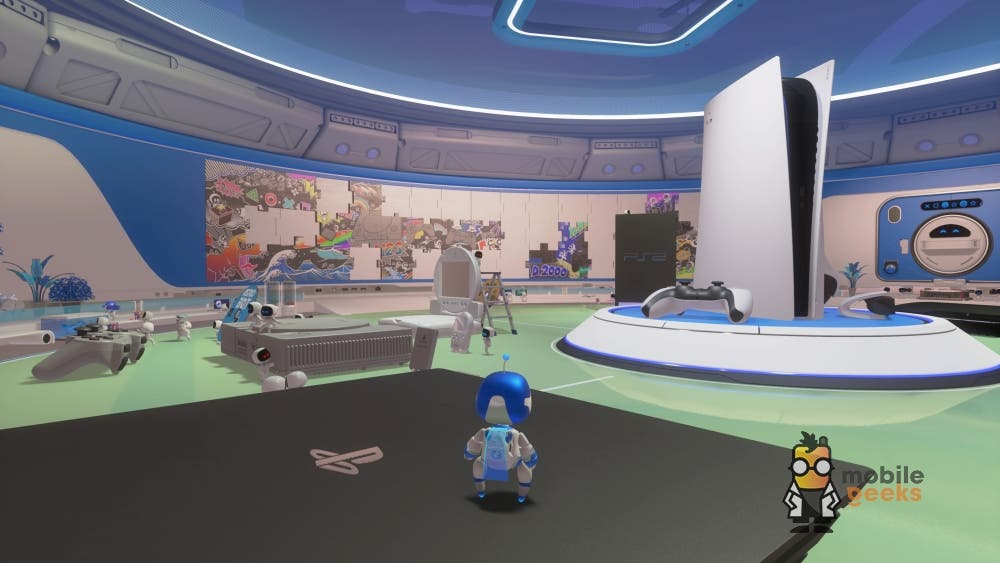 Astro´s Playroom PS5 Playstation 5 Test Mobilegeeks
