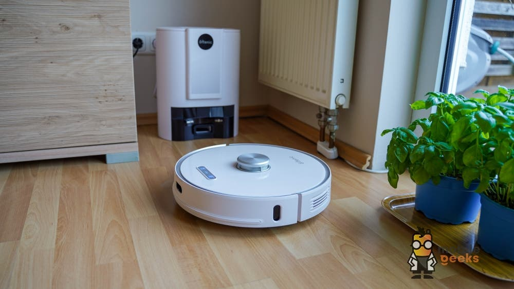 Ultenic T10 vacuum cleaner robot mopping robot with suction station test Mobilegeeks