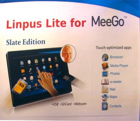 Linpus Lite Tablet Edition