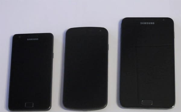 Samsung Nexus vs Galaxy S II vs Galaxy Note